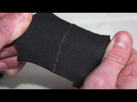 Wetsuit Repair using Neoprene Queen Glue