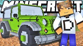 getlinkyoutube.com-Minecraft Mods: Novos Carros no Minecraft - Vehicular Mod