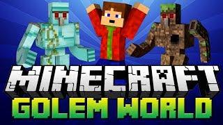 getlinkyoutube.com-Minecraft MOD | Golem World [Porty]
