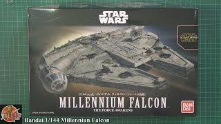 Bandai 1/144th Millennium Falcon Review