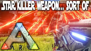 getlinkyoutube.com-Ark Survival Evolved - Star Wars 7 StarKiller Mega Weapon - Ark Gameplay