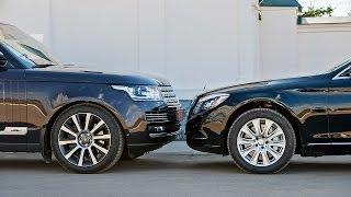 getlinkyoutube.com-2014 Range Rover LWB vs. Mercedes S 500 L — За кадром