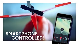 getlinkyoutube.com-PowerUp 3.0 Smartphone Controlled Paper Airplane Kickstarter