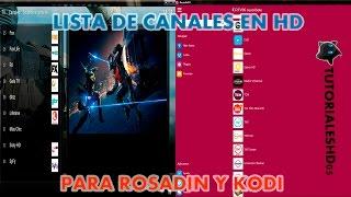 getlinkyoutube.com-Kodi & Rosadin TV + Lista de canales en HD 25 de Junio 2016
