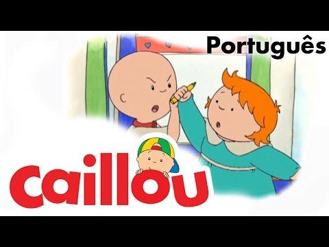 CAILLOU PORTUGUÊS - Caillou cuida da Rosie  (S01E51)