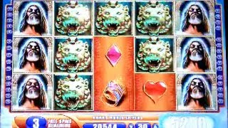 getlinkyoutube.com-Kronos Super Big Win Bonus Hit WMS Slot Machine