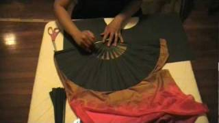 getlinkyoutube.com-How to make Fan Veils part 2.mpg