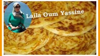 getlinkyoutube.com-عجين بدون دلك + ملوي بطريقة سهلة من عند ليلى ام ياسين 18/03/2015