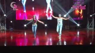getlinkyoutube.com-KHALED SEIF (Egipto) y LUNA (Perú) STREET SHAABI -LUNA DANCE ,DANZAS ÁRABES PERU