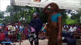 AMAZING COMEDY BY MANGALPUR DRAMA PARTY AS DHAMU ROCKED THE STAGE  DHAMU CHALE SADHUAWNI MEIN PART 2 width=