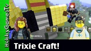getlinkyoutube.com-Trixie Minecraft Rufus Lego Makes Trixie by HobbyGamesTV