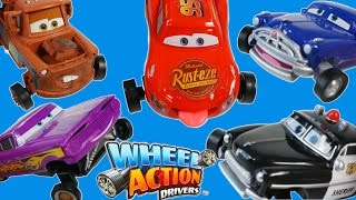 getlinkyoutube.com-DISNEY PIXAR CARS WHEEL ACTION DRIVERS MOVING TIRES AND MOUTH