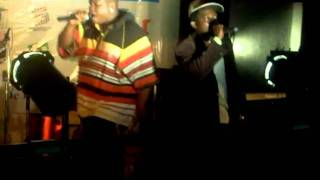 Oluwe performs at Alien magazine launch
