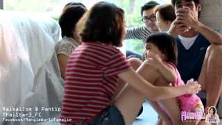 getlinkyoutube.com-มาร์กี้ & วันใหม่ - ตอน 'วันใหม่ขี่เครื่องบิน' [Margie & Wanmai - Cute Moment Part 3]
