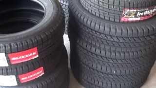 【中国製の動きに驚き!!】いろんな新品スタッドレスタイヤの硬さ比べしてみた! タイヤ テスト レビュー
