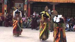 getlinkyoutube.com-Tantric Buddhist Monk Dance