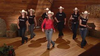 getlinkyoutube.com-Cowboy Cha Cha - Line Dance Instruction