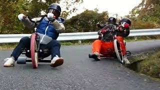 getlinkyoutube.com-OVER TAKE @DRIFT TRIKE/ドリフト三輪車