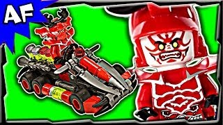 getlinkyoutube.com-General Kozu GO-KART Custom Lego Ninjago Rebooted Building Review 70504 70725