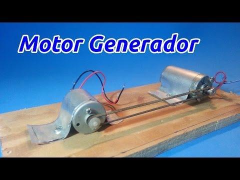 Motor Generador Eléctrico