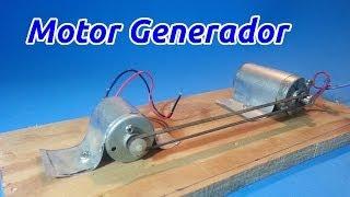 getlinkyoutube.com-Motor Generador Eléctrico