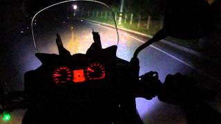 getlinkyoutube.com-Quad Cree XMLT6 30W LED 3000 lm, Revision carretera