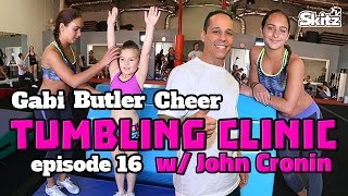 getlinkyoutube.com-Tumbling Clinic | Episode 16 | Gabi Butler Cheer