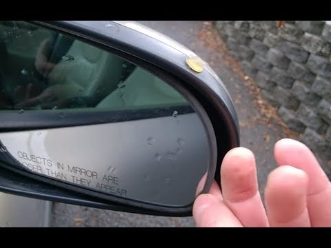 Side mirror glass removal and installing Volvo S