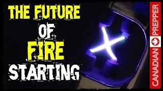 getlinkyoutube.com-Futuristic Fire Starting: Rechargeable Plazmatic Arc Lighter | Canadian Prepper
