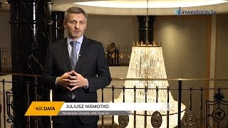 ABC Data SA, Juliusz Niemotko - Wiceprezes Zarządu, #74 PREZENTACJE WYNIKÓW