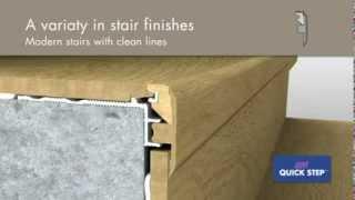 Jak wykończyć schody ? Rozwiązanie Quick-step INCIZO !