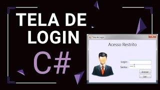 getlinkyoutube.com-Creating Login Screen in C# (Criando Tela Login no C#)