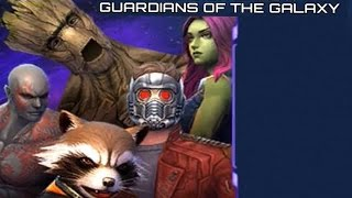 getlinkyoutube.com-Marvel: Future Fight - Guardians of the Galaxy - All Dimension Chests