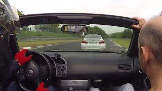 getlinkyoutube.com-Honda S2000 vs BMW M4 Nurburgring Nordschleife 24.05.2015 BTG 8min30