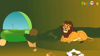getlinkyoutube.com-Lion and Fox  || Animated Moral Stories Telugu || KidsOne