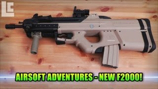 getlinkyoutube.com-My New Airsoft G&G F2000 With RIS & Foregrip (Airsoft SC Village Viper Gameplay/Commentary)