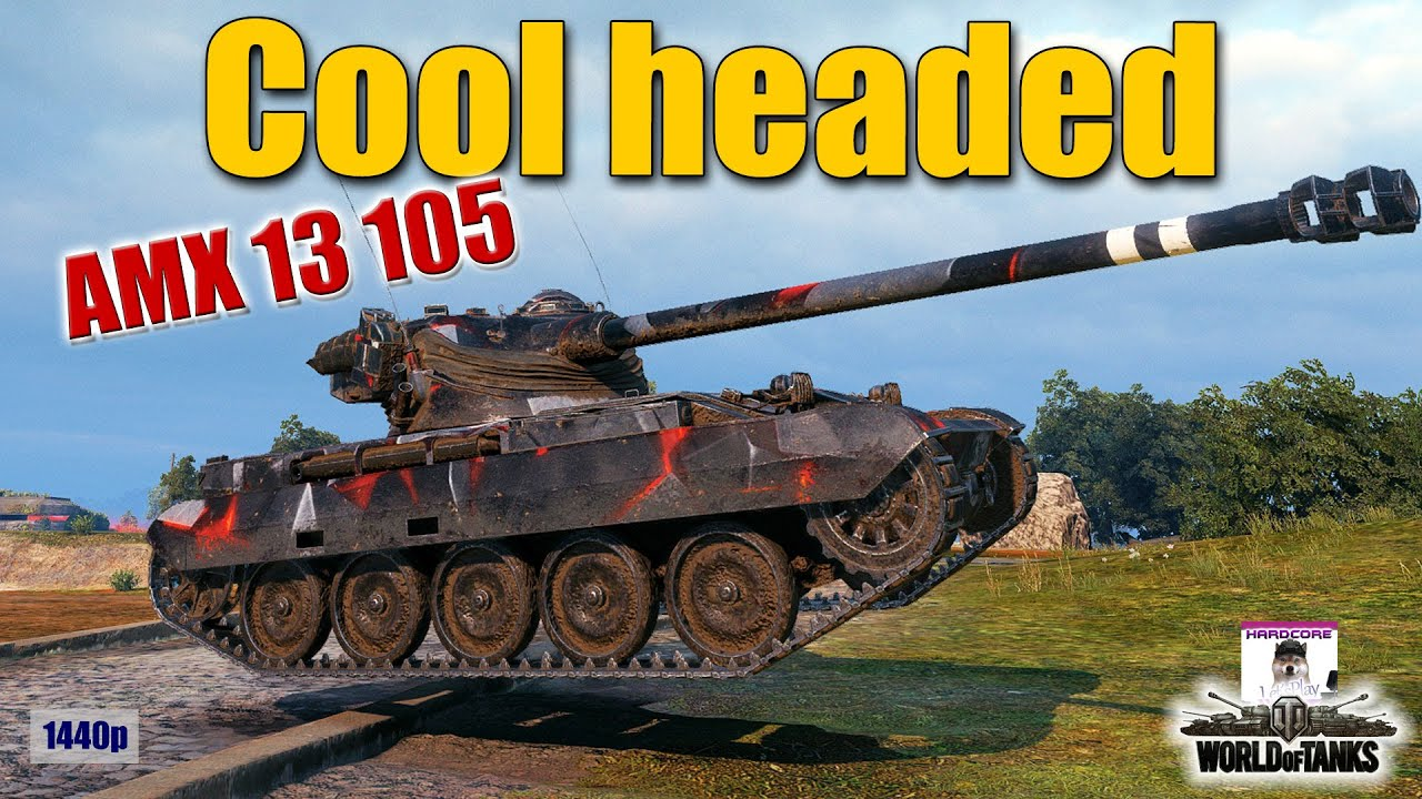 AMX 13 105  easy game because smart play  best World of Tanks games