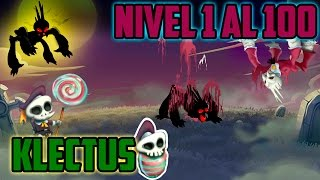 getlinkyoutube.com-Monster Legends - Klectus (Nivel 1 al 100) + Combate