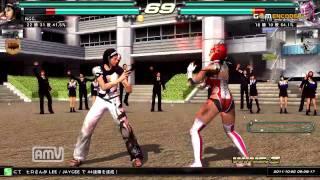 getlinkyoutube.com-鉄拳TT2_ジュン_オーガ_vs_ジェイシー_マードック_2011_1001_153720
