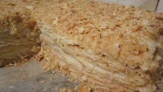 """getlinkyoutube.com-Торт """"Наполеон"""" - классический рецепт приготовления вкусняшки"""
