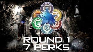 getlinkyoutube.com-Buried Zombies: 7 Perks in Round 1
