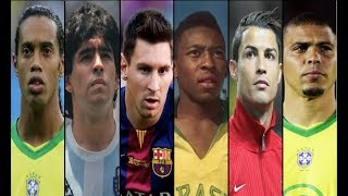 Top 10 Best FootBall Players Of 2018 - All Time Best FootBall Players