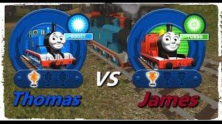 Thomas & Friends: Go Go Thomas! – Thomas VS James