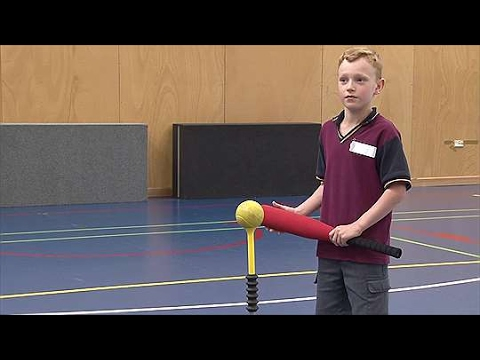 <p>Demonstration, verbal and written response: Striking and fielding (T-Ball)</p>