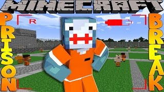 getlinkyoutube.com-Minecraft PRISON BREAK - SCUBA STEVE FINDS SHARKY!!
