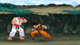 getlinkyoutube.com-Goku vs Ryu
