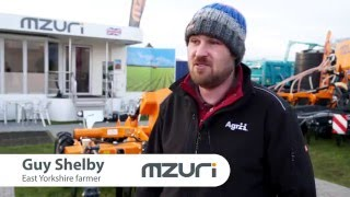 Mzuri strip till drill has the edge - Customer Testimonial Video