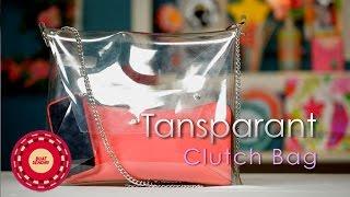 getlinkyoutube.com-Buat Sendiri (DIY Tutorial): Transparant Clutch Bag