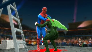 getlinkyoutube.com-Spider Man VS Vulture - Epic Battle