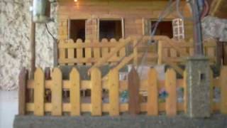 getlinkyoutube.com-miniatura de casinha com palitos de picolé.wmv